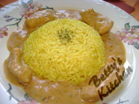 risotto cu curry 2